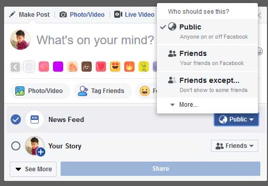 how to Show or Hide Facebook Posts for Certain People IN HINDI
