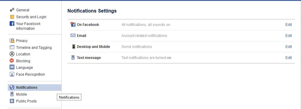 how to Adjust The Number Of Notifications You Get from facebook
