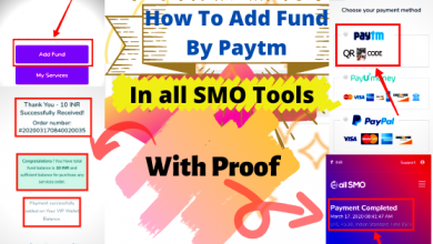 Photo of How To Add Fund on all SMO by PayTM QR Code? | For Indian User