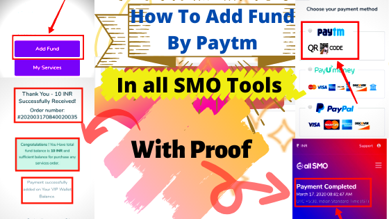 How To Add Fund By Paytm