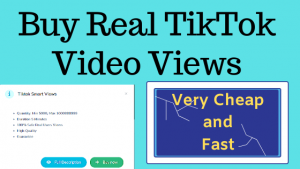 How To Buy Real TikTok Views from $ 0.007 | Purchase at Cheap Price