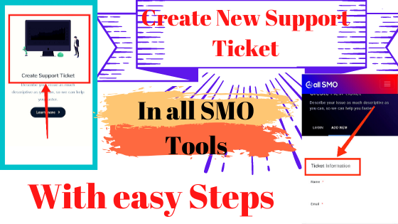 How to create a Support Ticket and Solved your Problem or Contact