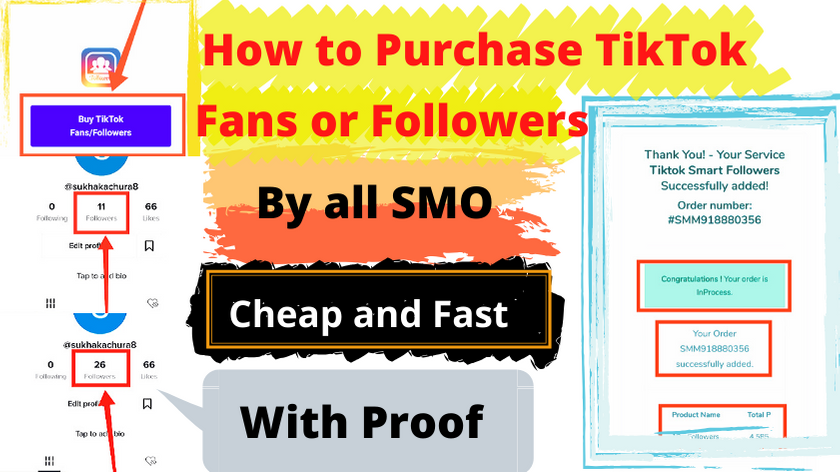 How To Purchase Real Tik Tok Followers or Fans ( Buy TikTok Followers ) at Cheap Price