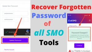 How To Recover Forgotten Password or Find VIP Account