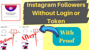 How to Get Free Instagram Followers Without Login Token | IG APP