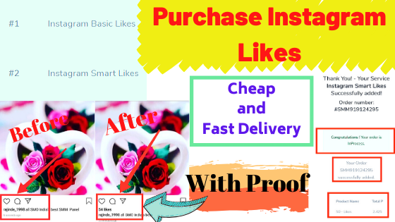 How To Buy Real Instagram Likes Best Top Services at Cheap Price