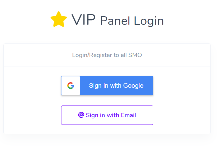 Login Page all SMO