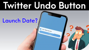 Twitter Undo button Feature Will Be Soon Launched (New Feature)