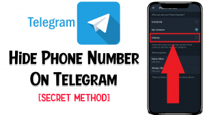 Hide Phone Number On Telegram With This Trick (Secret Trick)