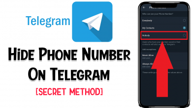 Hide Phone Number On Telegram With This Trick (Secret)
