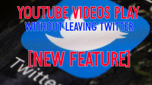 Twitter YouTube Videos Play Feature Testing By Twitter