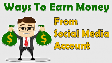 Ways To Earn Money From Social Media Account 2021