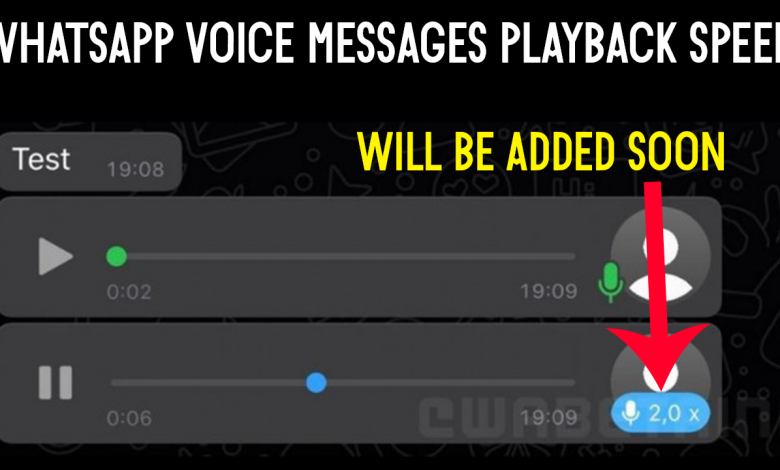 Whatsapp Voice Messages Playback Speed Will Be Added Soon