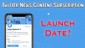 Twitter News Content Subscription Platform Scroll to Advance