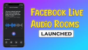 Facebook Live Audio Rooms and Podcast Playback In-Stream
