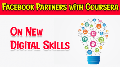 Facebook Partners with Coursera on New Digital Skills